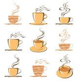 Retro coffee — Stock Vector