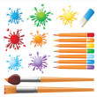 Set of painter tools — Stock Vector #60050281