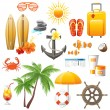 Great traveling icons set — Stock Vector #60052109