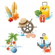Travelling icons — Stock Vector #60052115