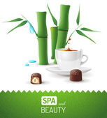 Spa and beauty background — Stockvektor
