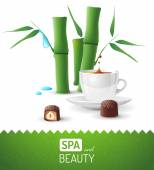 Spa and beauty background — Wektor stockowy
