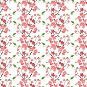 Spring blossom seamless — Vettoriale Stock
