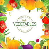 Gemüse — Stockvektor