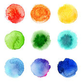 Watercolor palette — Stock Vector