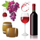 Wine — Stock Vector