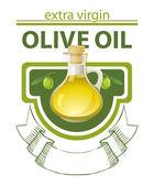 Extra virgin olive oil — Stock Vector