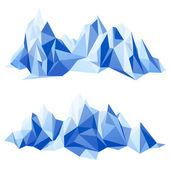 Mountain range — Stock Vector