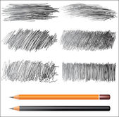 Pencil drawing — Stock Vector