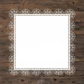 Lace frame — Stockfoto