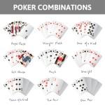 Poker combinations — Stock Vector #63728731
