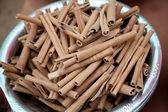 Cinnamon sticks in a bowl  — Stock Photo