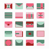 Icons Bags and Purses — Stock Vector