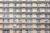 Facade of an apartment building in Japan — Stock Photo