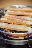Barbeque crab legs — Fotografia Stock