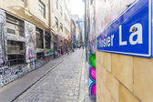Hosier Lane in Melbourne, Australia — Stock Photo