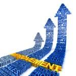 Business improvement concept, 3d render — Stock Photo #62606495