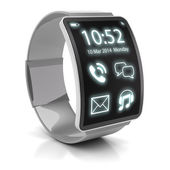 Smartwatch, 3d render — Stock Photo