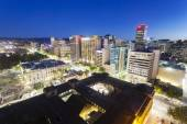 View of downtown Adelaide at night — Stock Photo