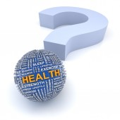 Health questions — Stock Photo