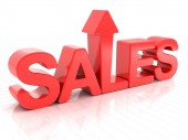 Sales increase — Stock Photo