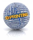 3d printing icon — Stock Photo