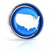 USA icon — Stock Photo