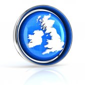 United Kingdom, UK icon — Stock Photo