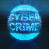 Cyber crime — Stock Photo