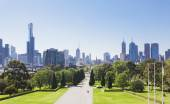 Melbourne in the daytime — Stock Photo