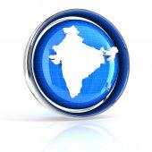 India icon — Stock Photo