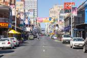 View of Hindley Street in Adelaide, South Australia — Stock Photo