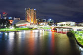 Adelaide in South Australia at night — Stock Photo