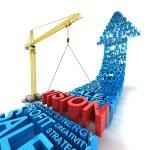 Establecer visión de negocio, 3d render — Foto de Stock   #70177407