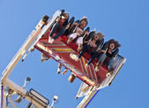 Amusement park ride — Stock Photo