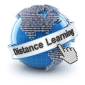 Distance learning — Stock Photo