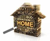 House search concept — Stock Photo