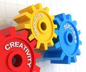 Creativity, innovation and success — Stock Photo