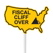 USA fiscal cliff over — Stockfoto