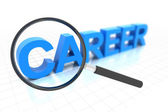 Looking for clear career path — Stock Photo