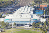 Aerial view of Hisense Arena in Melbourne — Stock Photo