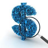 Foreign exchange analysis — Stock Photo