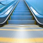 Empty escalator — Stock Photo #78246552