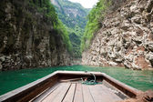 Sailing through the Small Three Gorges in China — Stock Photo