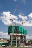 Building construction — Stock Photo