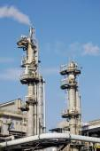 Chimneys of industrial plant — Stock Photo