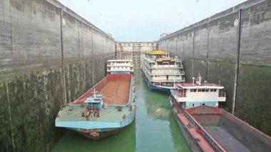 Three Gorges Dam of China — Stock Video