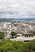 Kumamoto city in Japan — Stock Photo