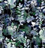 Blue-green  flowers — Stock Photo