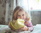 Smiling Infant Baby — Stock Photo